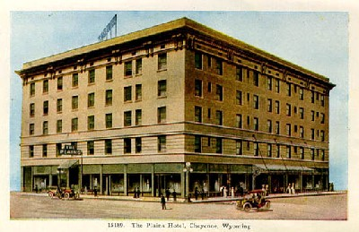 Plains Hotel in Cheyenne, Wyoming