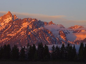 The Grand Tetons of Wyoming
