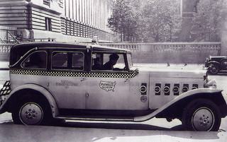 1930 Checker Taxi Cab Parmelee.  Flickr - Drivermatic