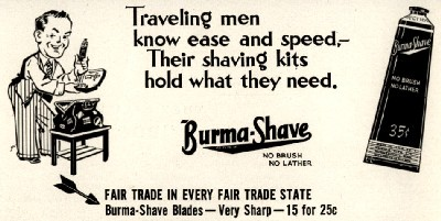 Burma-Shave Advertising