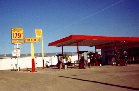 Thriftway gas in Gallup, New Mexico