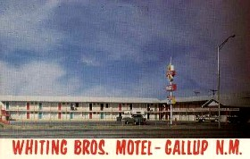 Whiting Brothers Motel, Gallup, New Mexico