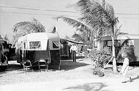 RV Trailer in the 1930's