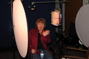 Kathy Weiser-Alexander during Production Shoot in Parsons, Ks
