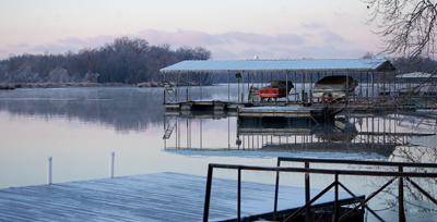 Icey December on the Lake of the Ozarks, Dave Alexander 2013