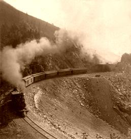 Marshall Pass in 1880