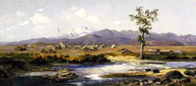 Fort Collins by A.G. MacGregor, 1864