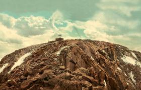 Summit of Pike's Peak, Colorado