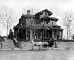 Tabor Mansion, 1882