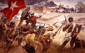 Battle of Glorieta Pass, by Roy Anderson