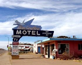 Blue Swallow Motel in Tucumcari, New Mexico