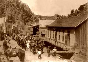 Mogollon, New Mexico Cinco de Mayo, 1914
