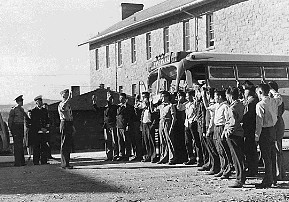 Code Talkers at Fort Wingate, New Mexico