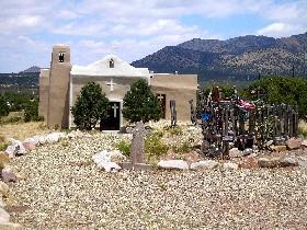San Francisco Church in Golden, New Mexico