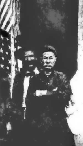 Henri Lambert on the right