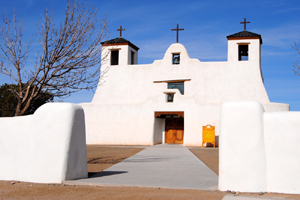 St. Augustine Church at the Isleta Pueblo, New Mexico