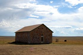 Johnson Mesa Church, New Mexico