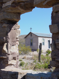 Lake Valley, New Mexico Chapel