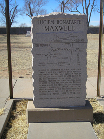 Lucien B. Maxwell's Grave, Fort Sumner, New Mexico