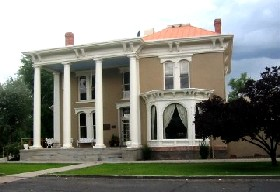 The Luna-Otero Mansion in Los Lunas, New Mexico  is renowned for its great food, service, and resident ghost.