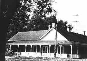 Maxwell's house at Rayado, New Mexico