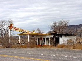 Whiting Brother Station in New Mexico