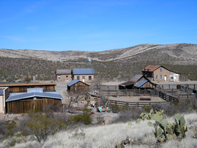 Shakespeare, New Mexico Town View