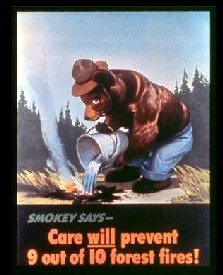 Smokey Bear 1944 Poster