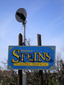 Welcome To Steins Ghost Town Sign, Kathy Weiser-Alexander, 2014