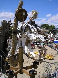 Tiny Town New Mexico Skull