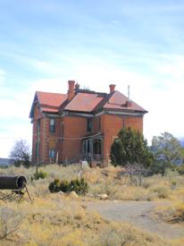 Hoyle Mansion, White Oaks, New Mexico