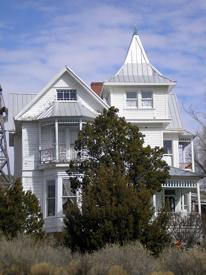 Gumm House, White Oaks, New Mexico