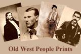 Old West People Prints