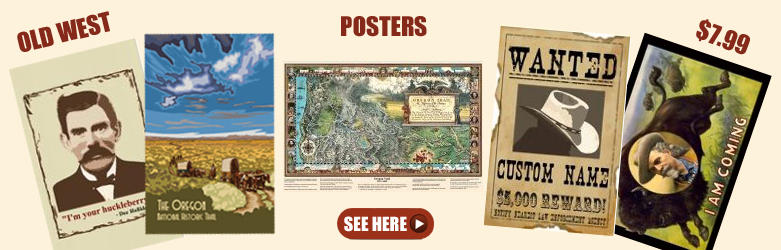 Old West Posters and Maps