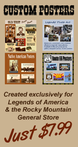 Custom Posters only available through the Rocky Mountain General Store