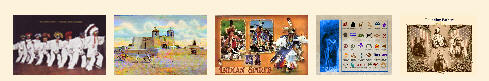 Native American Postcards from Legends' General Store