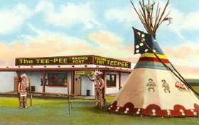 Tee-Pee Trading Post