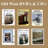 Old West DVD's & CD's