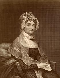 Abigale Adams, wife of President John Adams, the 2nd president of the U.S.