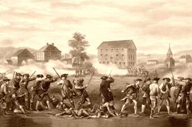Battle of Lexington, Massachusetts