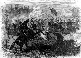 Cavalry Combat in the Civil War
