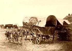 A Civil War Wagon in 1865