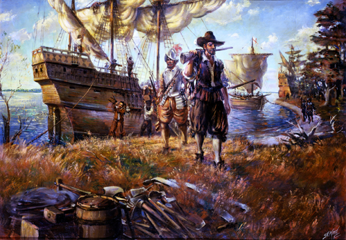 a history of the colonists settling in the chesapeake region in north america Virginia was established in the chesapeake region as the first english colony in  first french colonial settlement in north america  //historystategov .