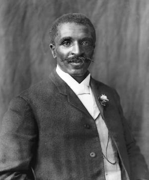 George Washington Carver, 1906. Photo by BenjaminFJohnston