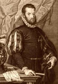 Captain Pedro Menendez de Aviles