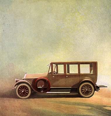 The Pierce-Arrow Sedan,Edward A. Wilson, Vanity Fair,January 1921