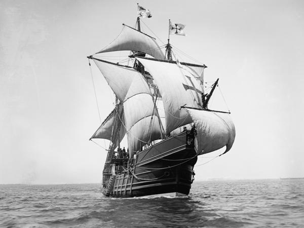 Francisco Pizarros Ship The Spanish Exp...