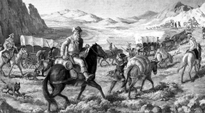 William Becknell blazes the Santa Fe Trail
