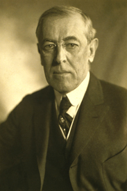 President Woodrow Wilson, 1919