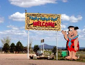 Bedrock City at Valle, Arizona